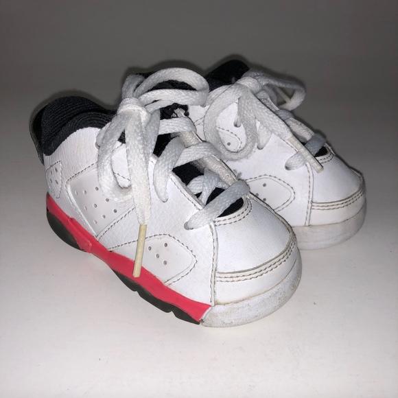 check out bc11c 9dc1b Nike Air Jordan 6 VI Retro Low Infrared Sz 4 C